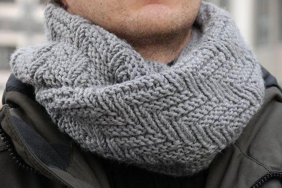 Ravelry: Fishbone Snood pattern by Elen Golub. | Crafts {Knitting ...