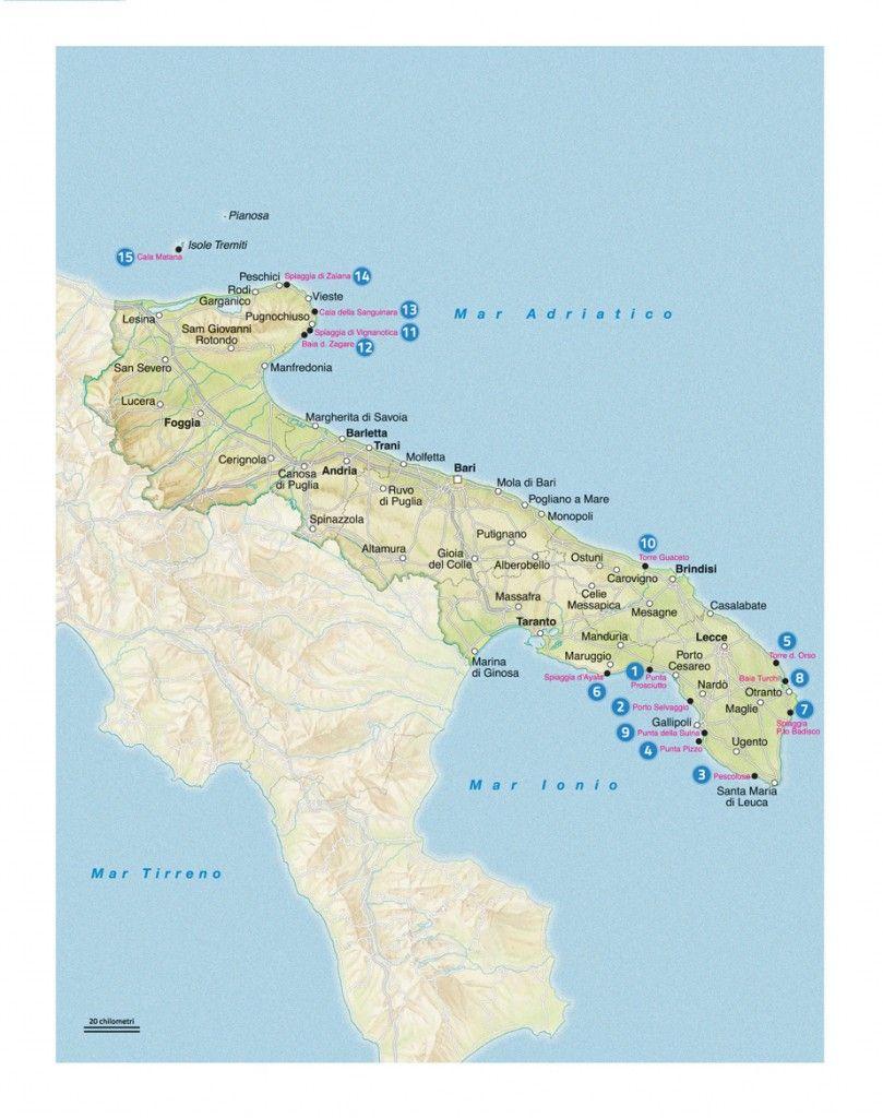 Spiagge Puglia con pallini blu Italy Pinterest Italy