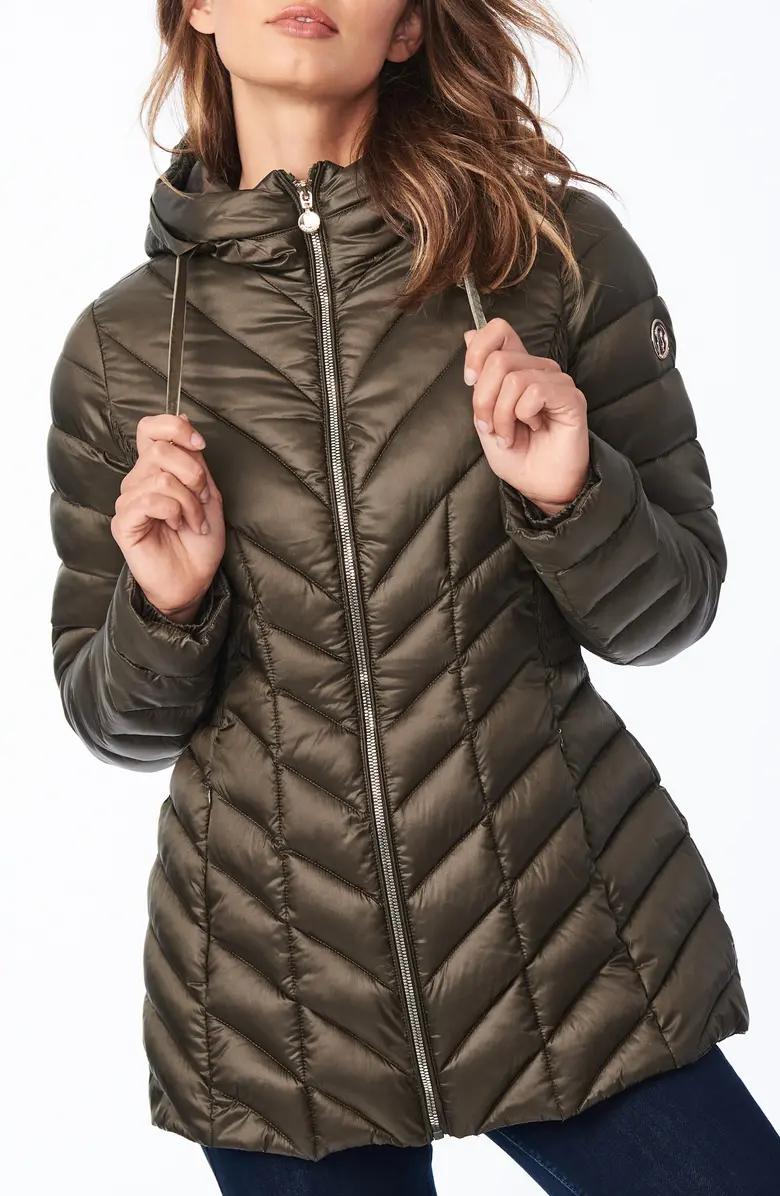 Bernardo Ecoplume Hooded Packable Puffer Jacket Nordstrom Jackets Puffer Jackets Puffer Coat [ 1196 x 780 Pixel ]