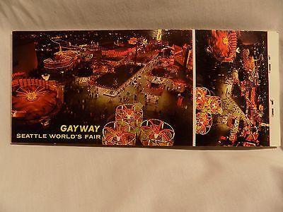 1962 Seattle World's Fair Century 21 Post Cards, unused, 10 + 10 pack