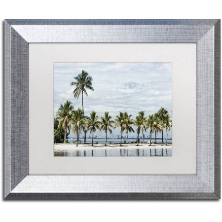 Trademark Fine Art View of Downtown Miami Canvas Art by Philippe ...