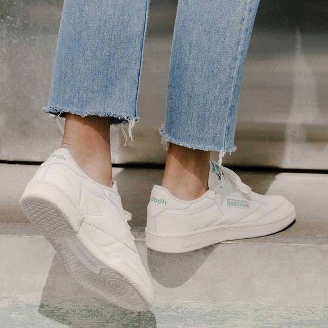 Probablemente Pulido profundidad  Reebok Club C 85 Vintage Sneaker (con imágenes) | Moda con zapatillas,  Outfits con zapatillas, Zapatillas vintage