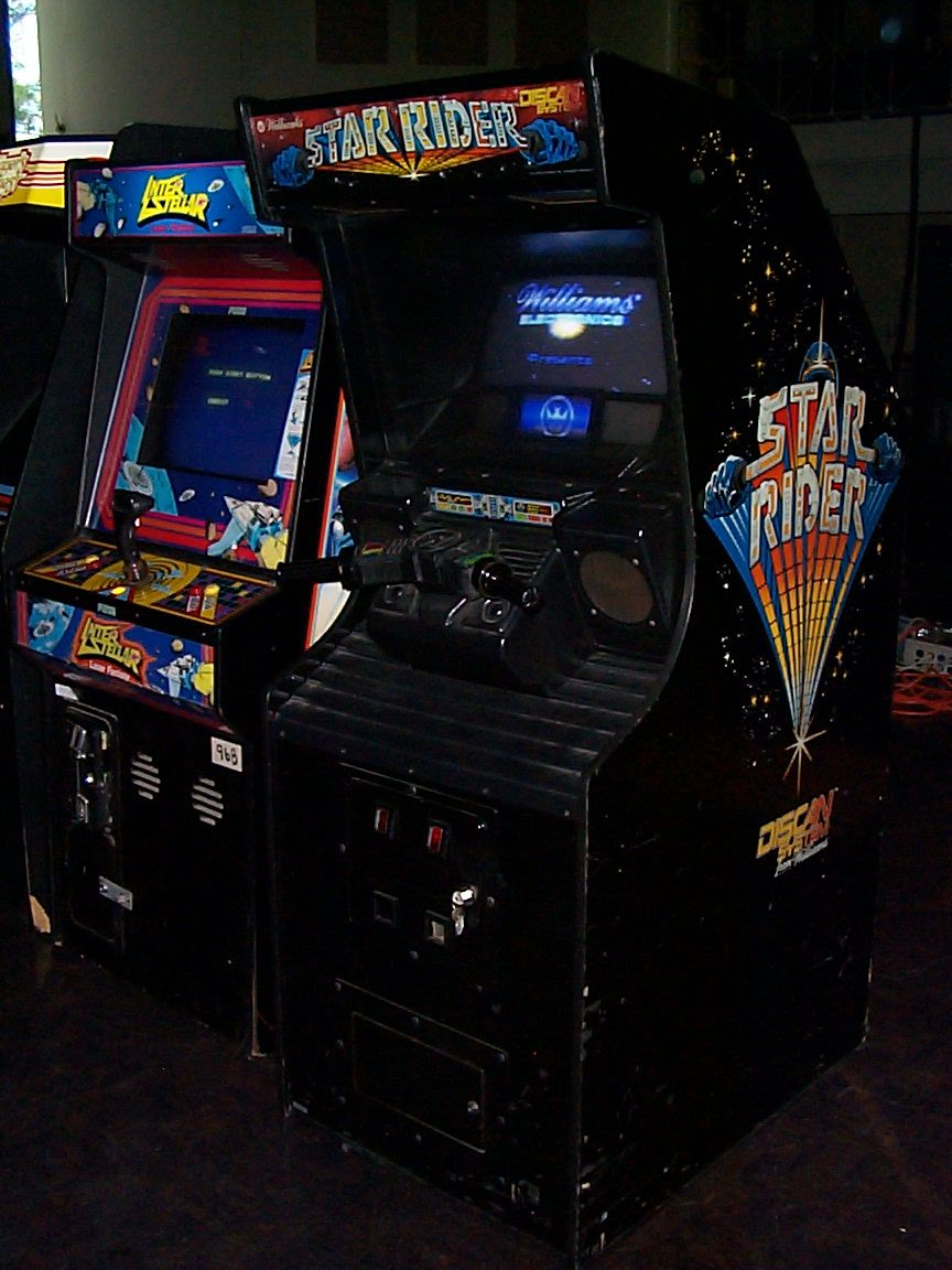 Star Rider Arcade Game (1983) arcade retrogaming