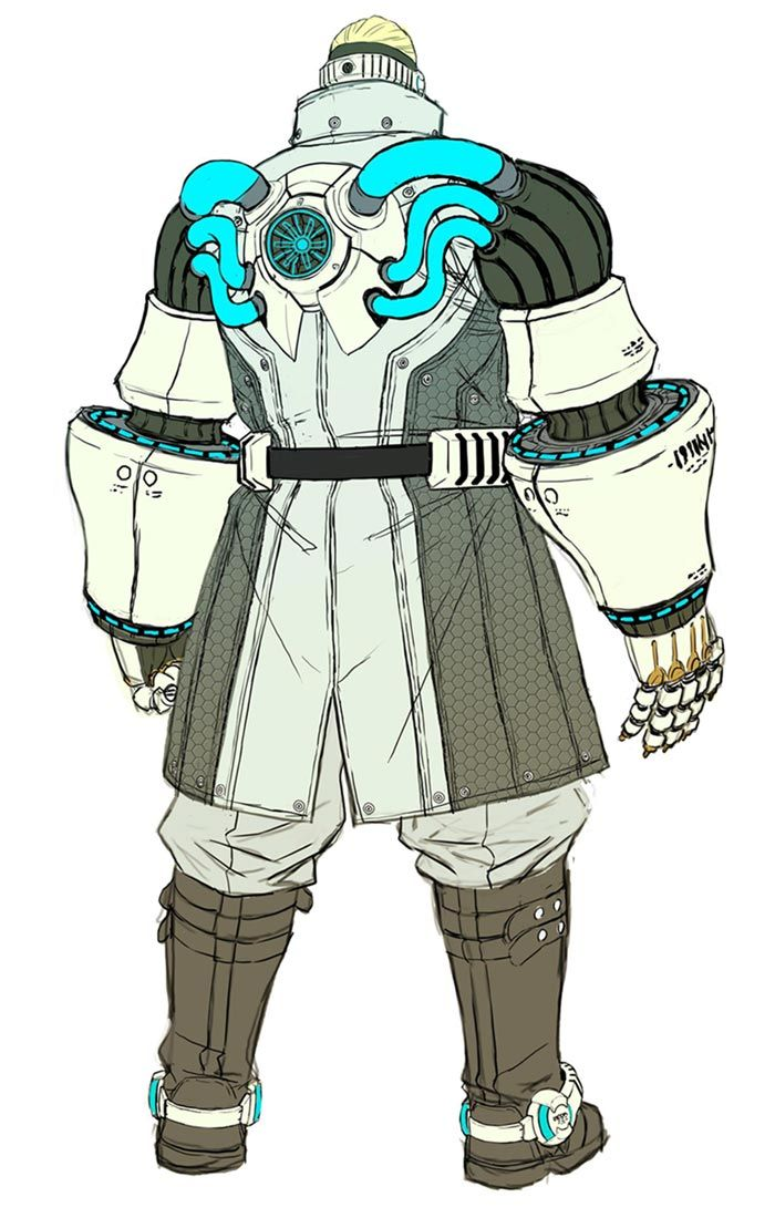 Nikolai Dmitri Bulygin Back Characters Art Anarchy Reigns Game Character Design Character Design Concept Art Characters