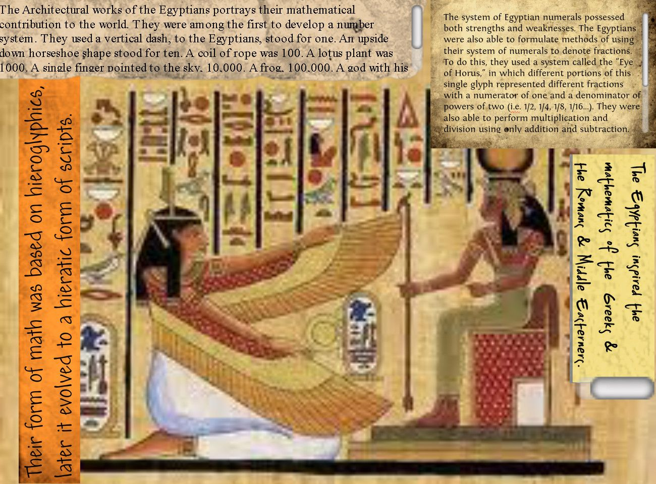 The color red scarlet letter project publish with glogster - Ancient Mathmatics Mathematics Of Ancient Egypt Publish With Glogster