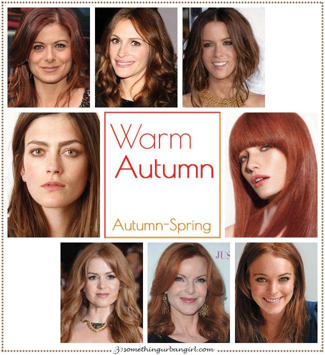 Are You An Autumn Spring Warm Autumn 30 Something Urban Girl Warm Autumn Autumn Skin Fall Color Palette