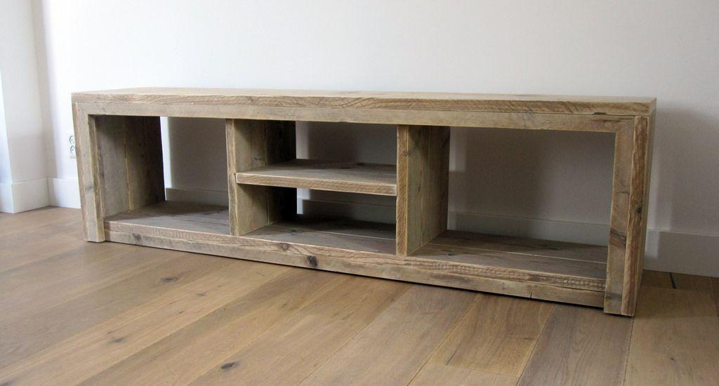 Vinyl Steigerhout Look : Tv meubel divided tv stands tvs and pallets