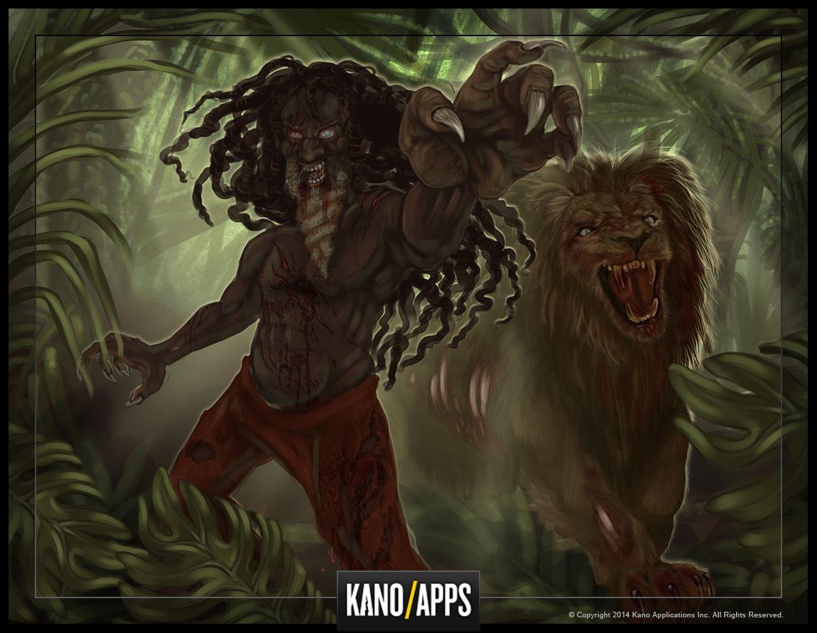 Zombie Slayer, Rasta Boss #kanoapps #conceptart #gameart #boss #zombie #