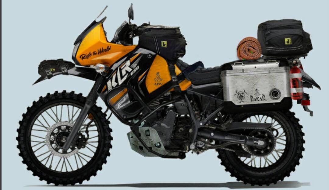 Adventure Kawasaki Klr 650 Motos Enduro Autos Y Motocicletas
