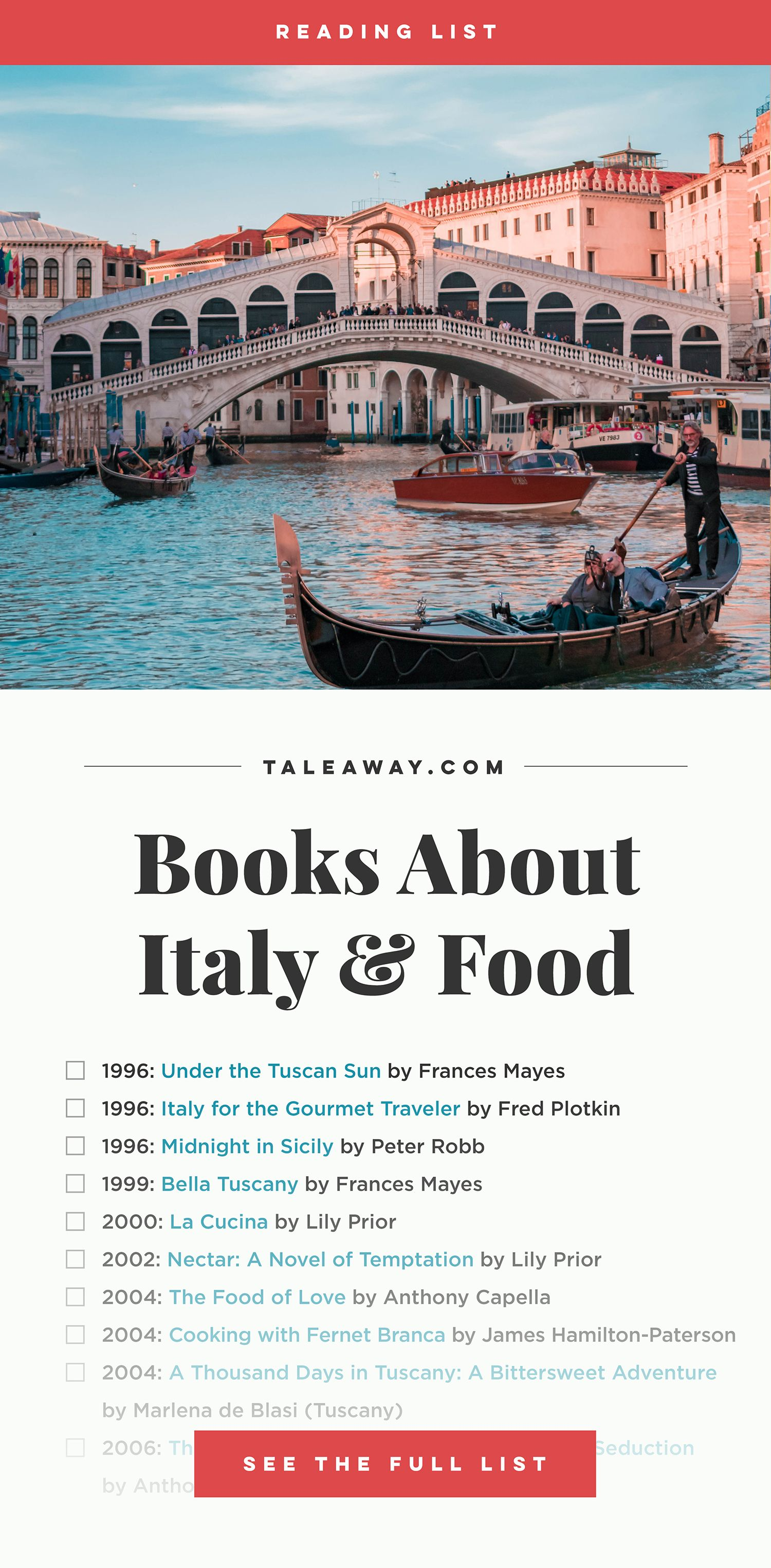 Photo of Italian Food Fiction: Books Around Italy for Food Lovers – Tale Away