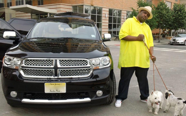 patrice o neal 2010 dodge durango front. celebrity drive