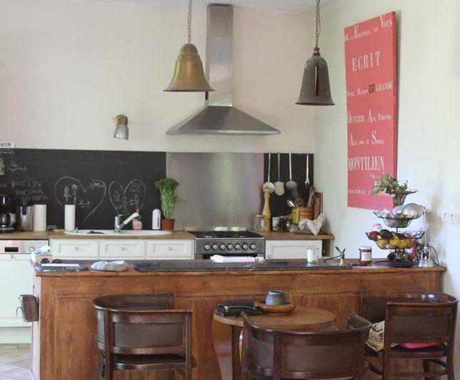 Photo deco cuisine maison campagne brocante r cup for Deco cuisine campagne