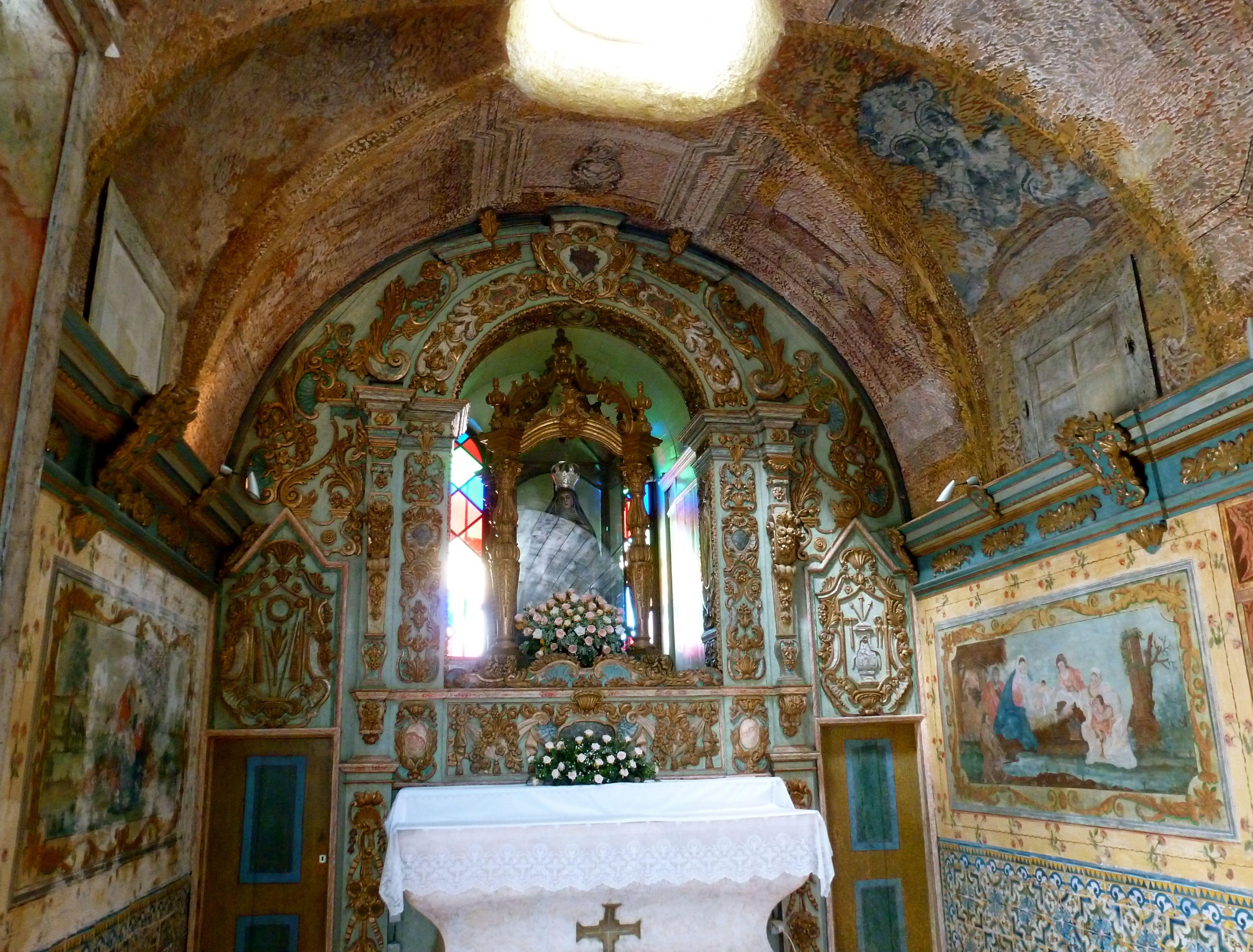 Interieur Nossa Senhora Piedade/Loulé, Algarve