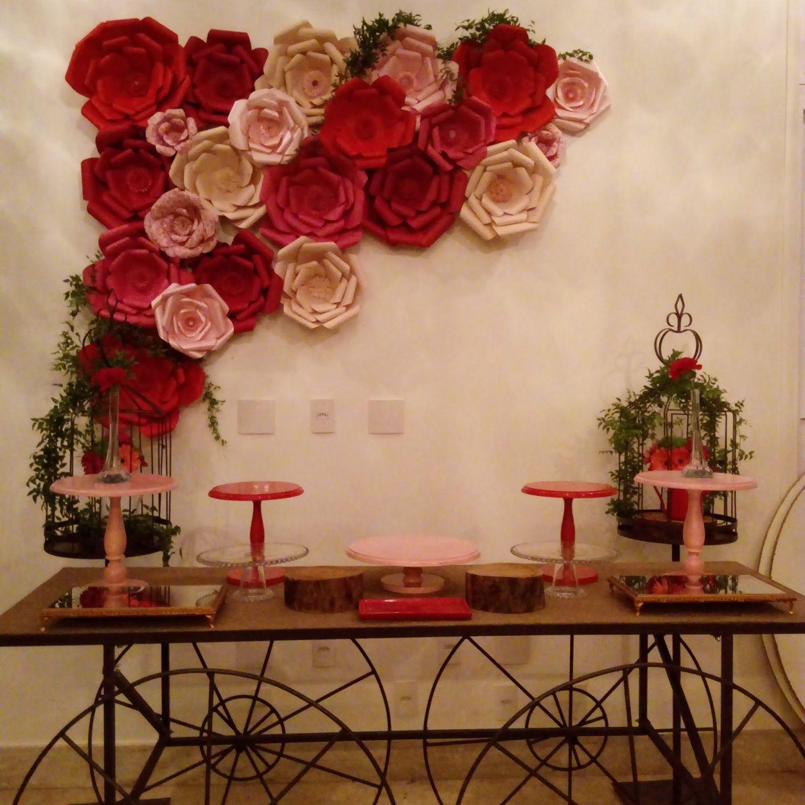 18 Resultado de imagem para painel com flores gigantes   Flores ...