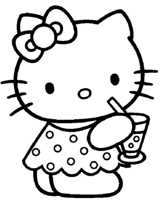 Crayola giant coloring pages hello kitty ~ Coloring Pages   Coloring ~Crayola~   Hello kitty coloring ...