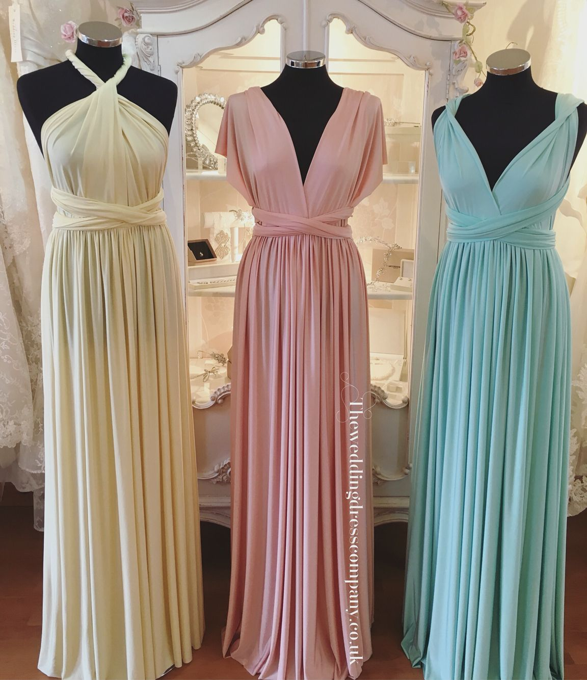 Eliza and Ethan pastel multiway bridesmaids dress available in lots ...
