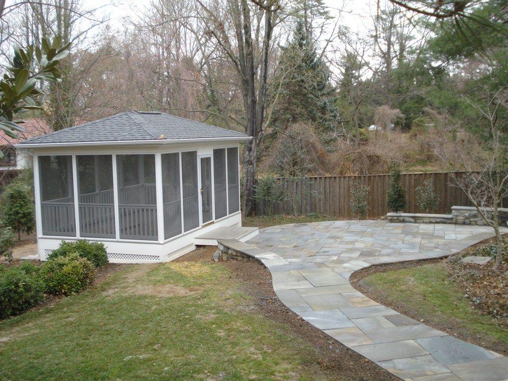 build free standing screen porch - Google Search | Porch ...