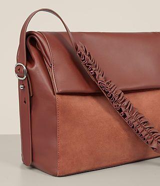 7e58f6cd790c ALLSAINTS UK  Womens Maya Shoulder Bag (SIENNA BROWN)