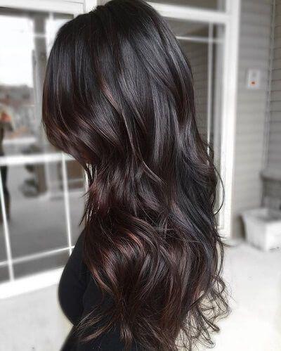 Siyah Saca Uygun Balyaj Renkleri Sac Sirlari Balyaj Sac Uzun Sac
