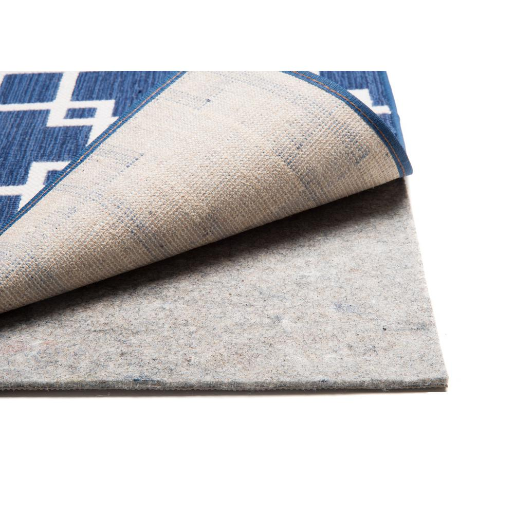 Nance Industries Great Grip 3 Ft X 5 Ft Reversible Premium Rug Pad 15336 The Home Depot Rug Pad Rugs On Carpet Cushion Pads