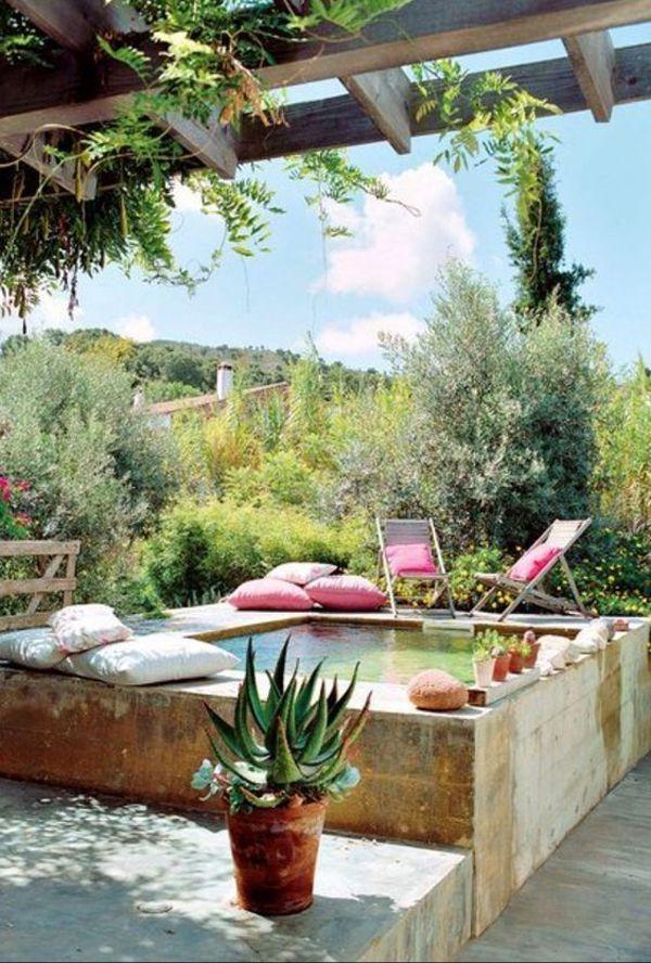 Photo of 25 diseños de piscinas naturales para su pequeño patio trasero, # para # patio trasero # su # pequeño …