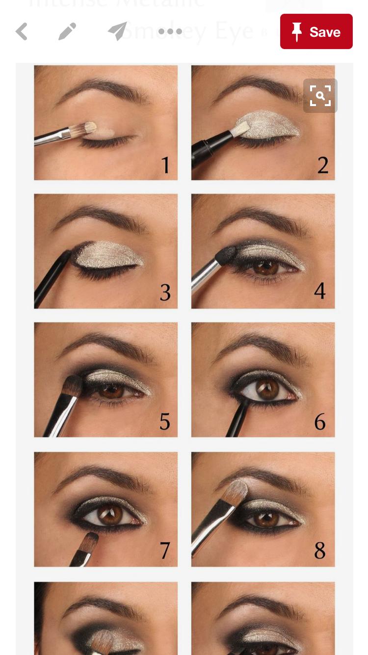 basic makeup steps for beginners. sparkling silver eyeshadow tutorial for beginners basic makeup steps