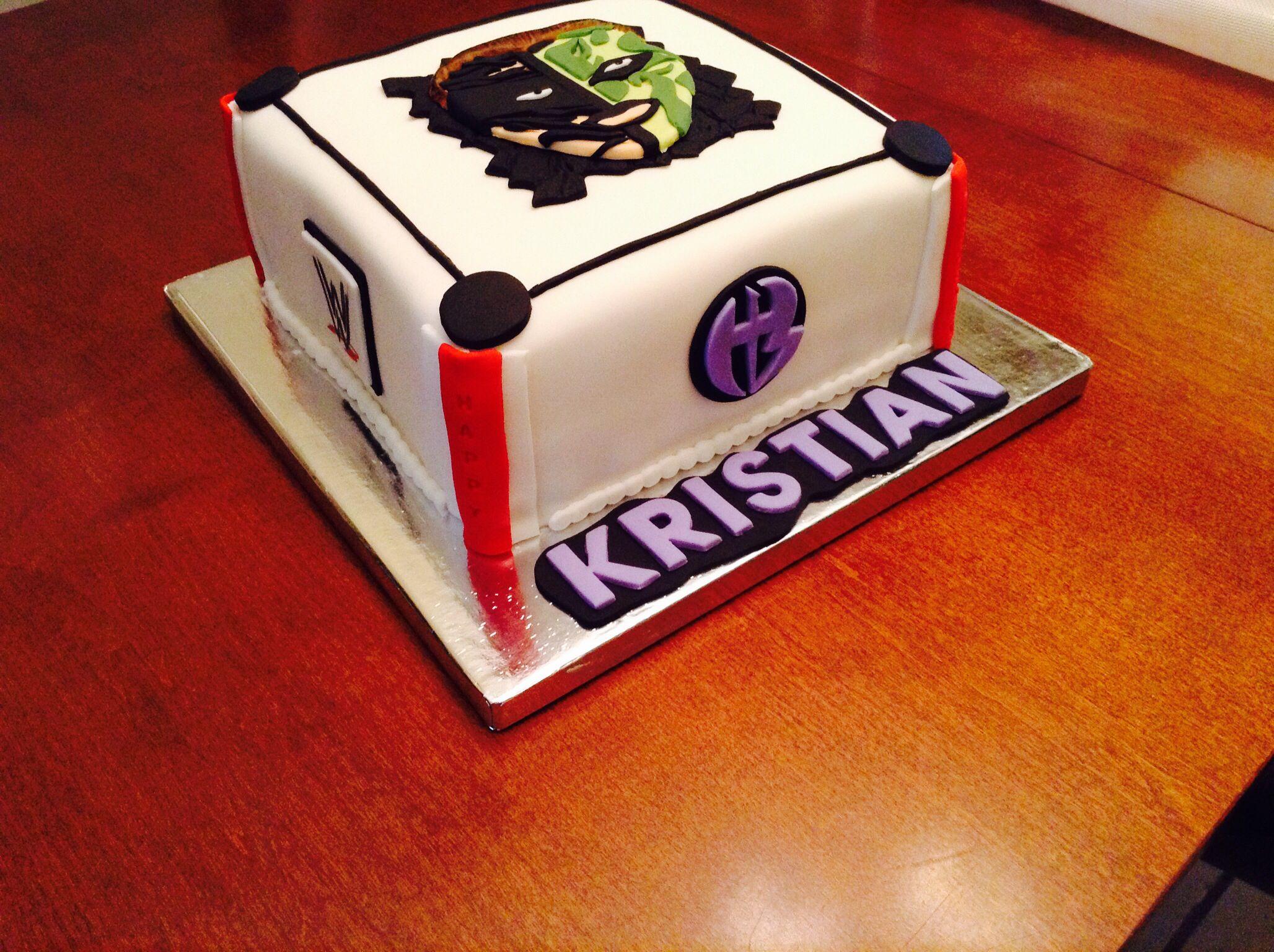 Wrestling Cake Jeff Hardy Cakes Made By Christy Pinterest