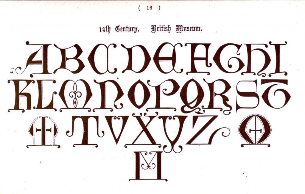 Handwriting Styles