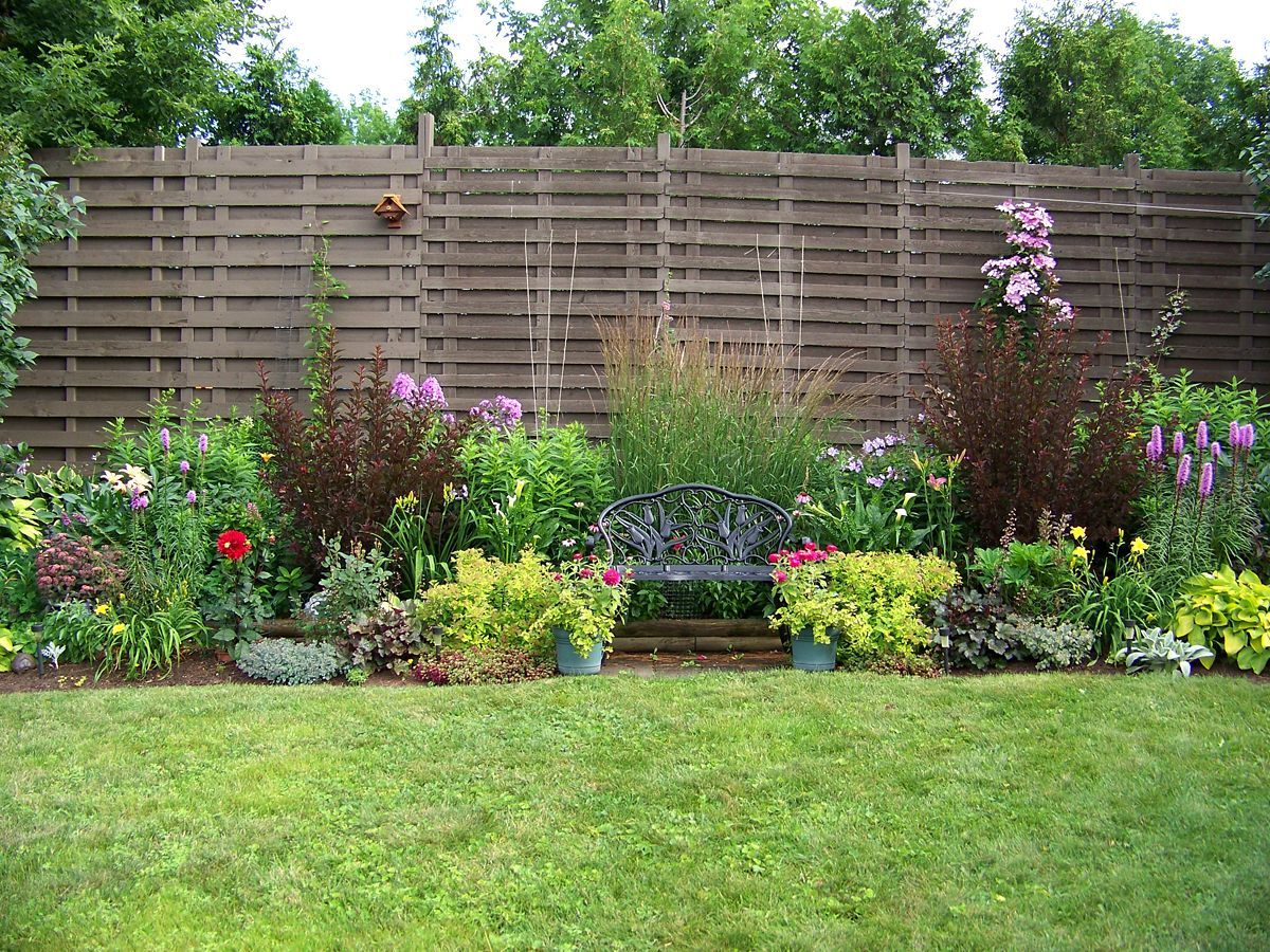 Australian garden landscape design ideas small front for Front garden fence designs