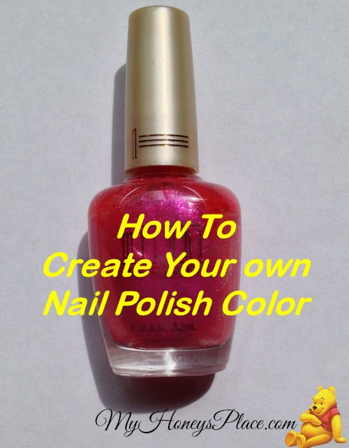 How To Create Your Own Nail Polish Color | Recipe | Beautifully ...