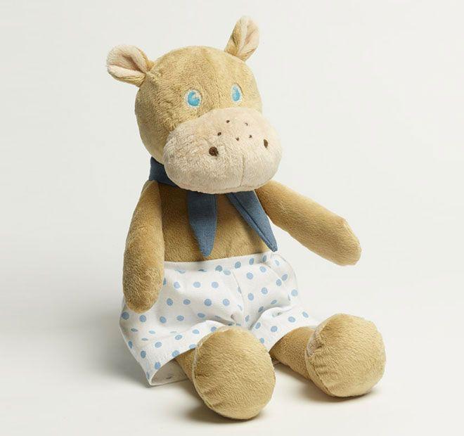 Jiggle and Giggle Hippo Plush Toy Boy  e6c8bbd671a08
