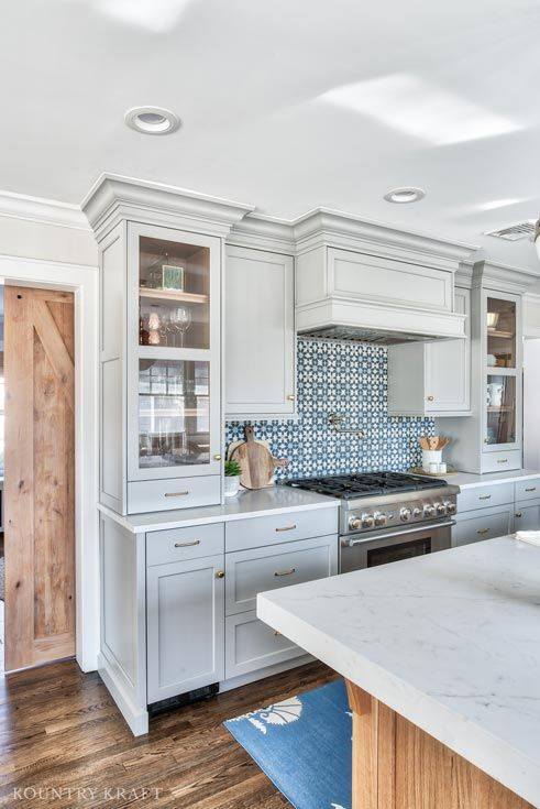 Best Coventry Gray Kitchen Cabinets In Chatham New Jersey 640 x 480