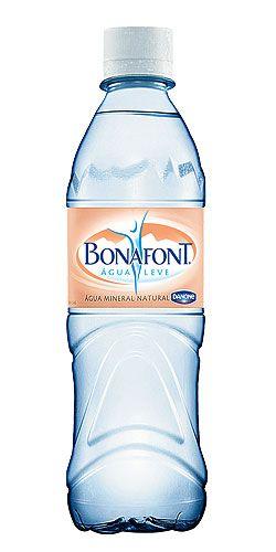 Danone Bonafont Water Bottle Design Bottle Design Packaging Water Bottle Design