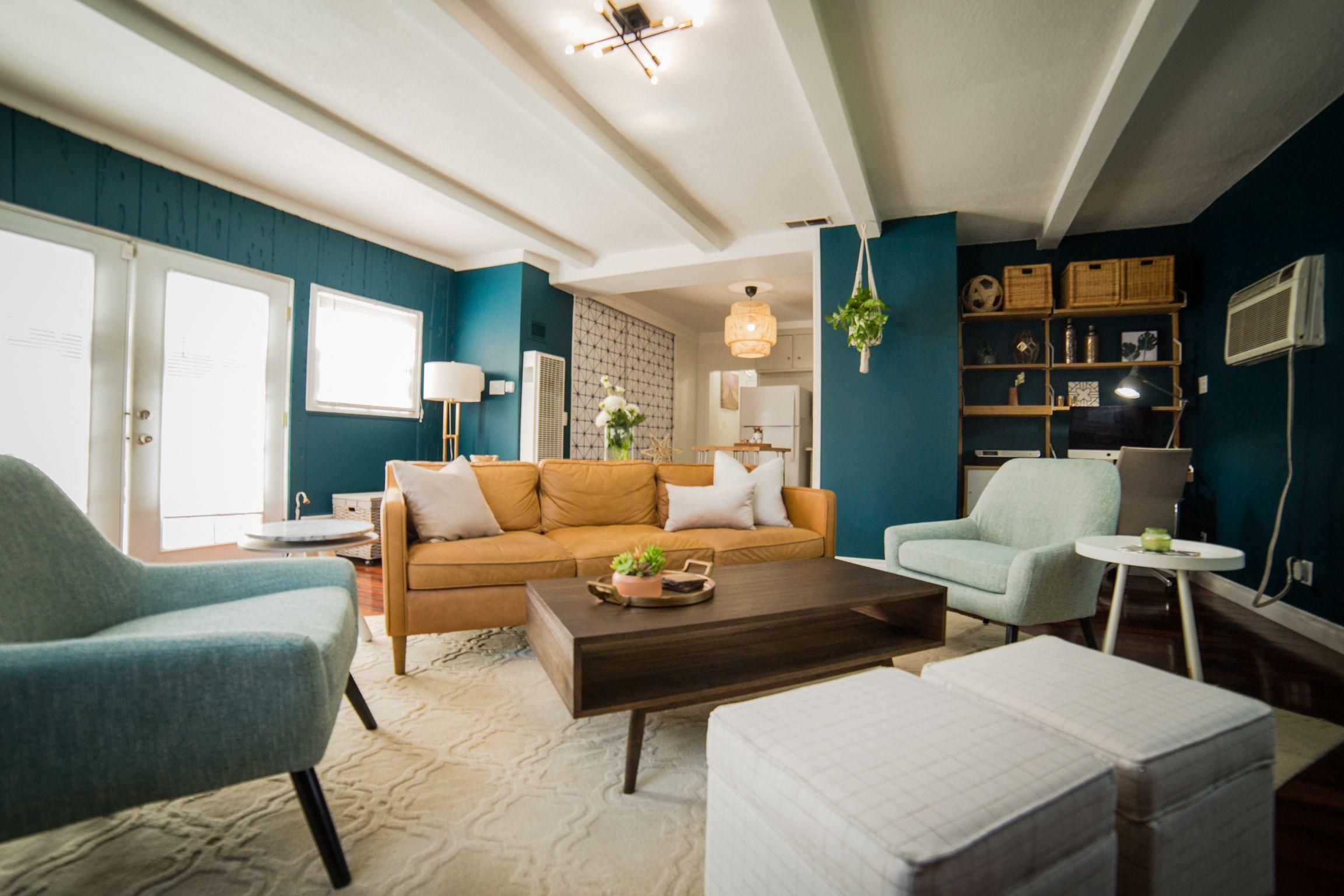Weird Living Room Layout - INTENSE Makeover! Weird Shaped ...