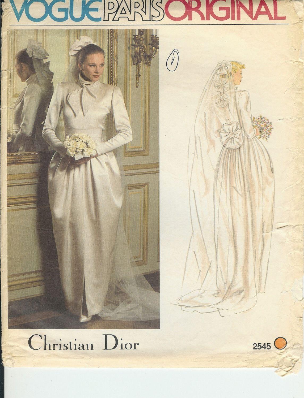 Dior wedding dresses  vintage dior wedding dress  Vintage  Pinterest  Dior wedding