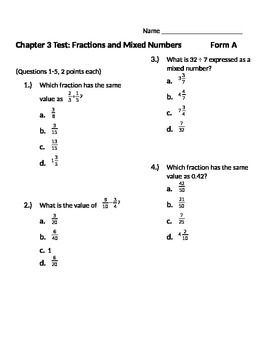 Pin On Math Fractions