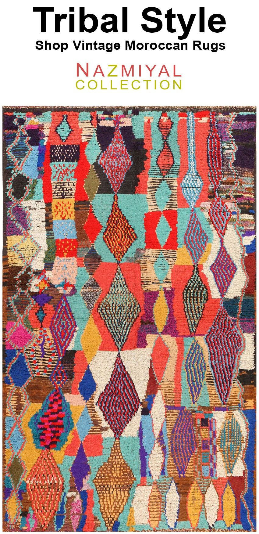 Vintage Moroccan Rugs With Images