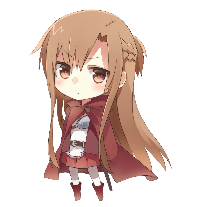 Asuna Yuuki Chibi 3! Sword Art Online Pinterest