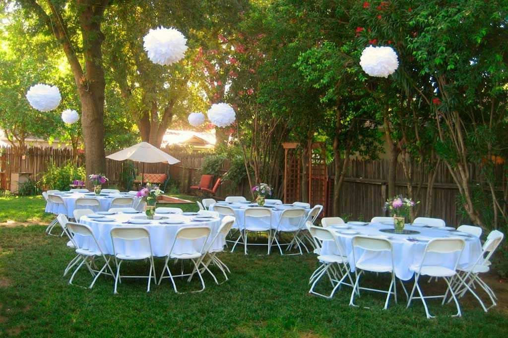 decorating a party tent outside party - Google Search ...