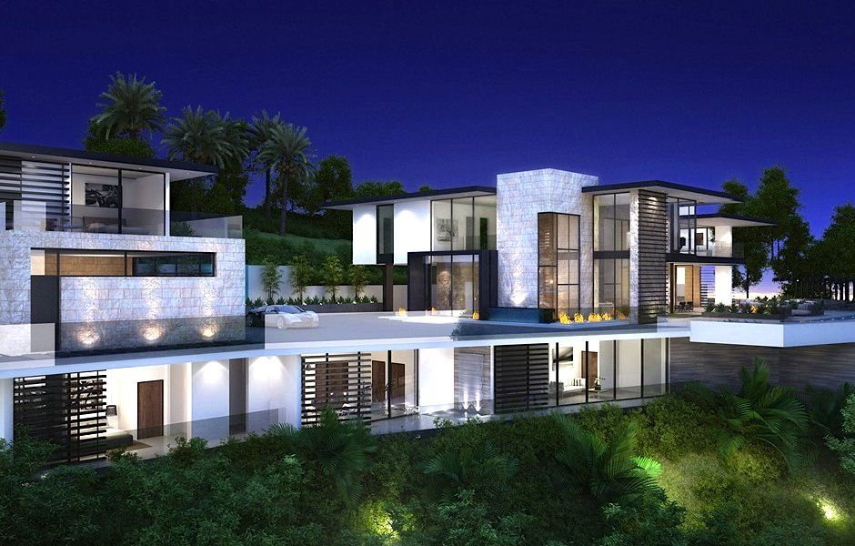 1677 N. Doheny Dr. | Sunset Strip #LA $36M #contemporary #home
