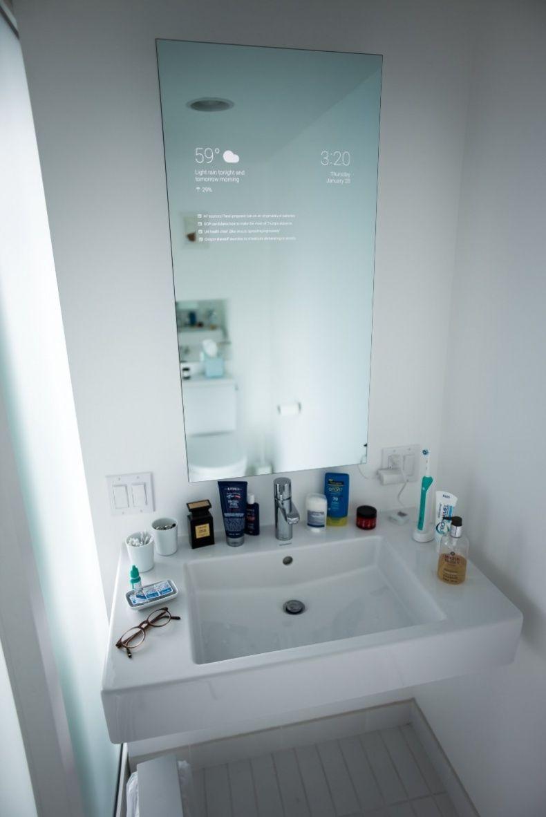 Badezimmerdesign 7 x 5 smart mirror alles wird intelligent u auch der spiegel  home decor