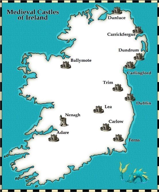 Medieval Castles Of Ireland Reiseziele Reisen Und Geografie