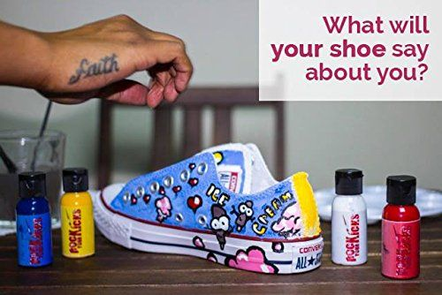 Rock Your Kicks DIY Paint Kit