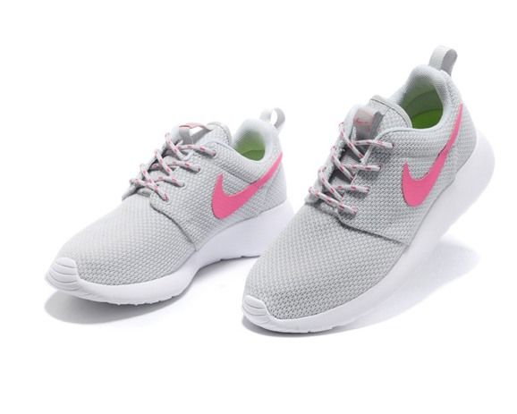 Nike Roshe Run Womens Shoes Breathable For Summer Grey New Releases