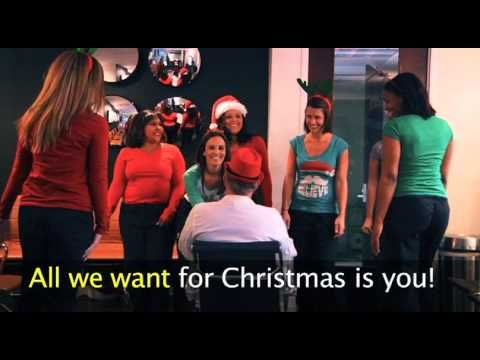Reindeer speculum and chorus line of office staff with Dr. Felski! Happy holidays from the chicks at CWC and Winter Park Hospital!!! http://youtu.be/kZexZ-kobJ4
