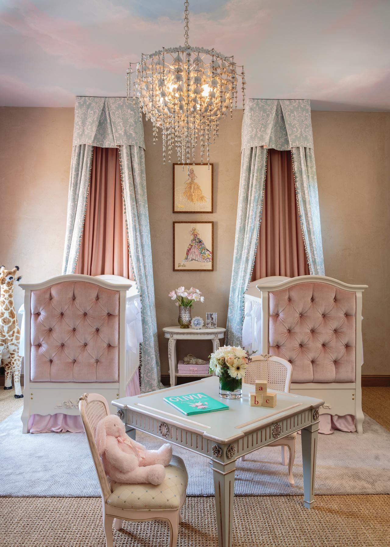 Incorporating Rose Quartz And Serenity Into Your Nursery Decor