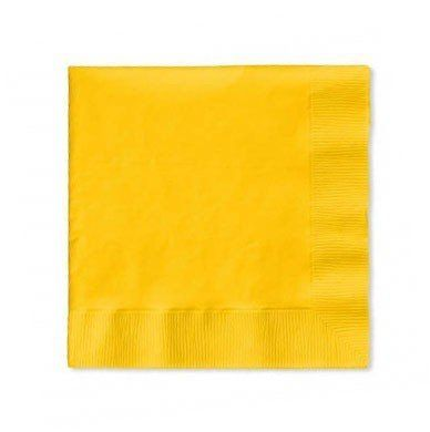 School Bus Yellow Luncheon Napkin 2 Ply Solid Bulk 900ct by Creative Converting. $30.19. Bulk by the Case, School Bus Yellow Luncheon Napkin 2 Ply Solid Bulk 900ct. For each case you will receive 6 individual packages that contain 150ea. Great for large Birthday Parties, Church Events, Sporting Events, Company Parties, Charity Events and more! You save big when you buy by the case!