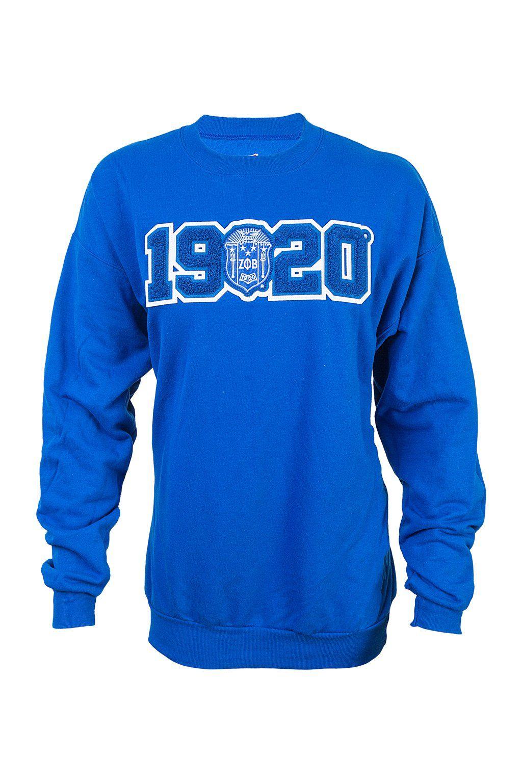 Finer Women Zeta Phi Z-Phi Beta 1920 Sweatshirt