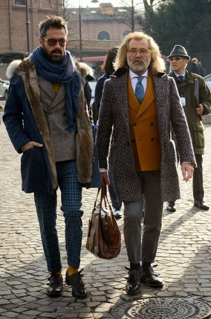masculine, layers, bundled, scarf, monk strap, leather, brown, texture, double breasted, coat, jacket, fur, cropped, fall, winter, colors, palette, orange, plaid, print, patterns, pants, buttoned up, sunglasses style from: Víctor Amaro Blog // Men's fashion