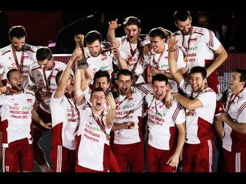 Champions Of The World Poland Volleyball Time Of Our Lives We Are The Champions Volleyball Volleyball Team